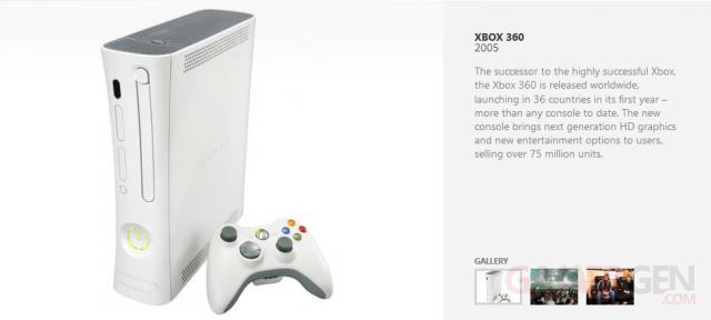 histoire marque Xbox, capture image screenshot xbox 360
