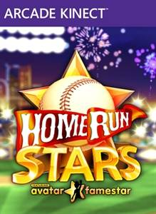 Home Run Stars kinect arcade jaquette