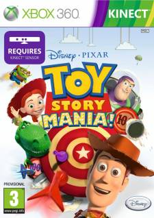 info intox Toy Story Mania UK kinect obligatoire