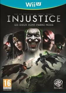 injustice jaquette Wii U