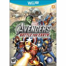 Jaquette cover Marvel Avengers Battle for Earth Wii U