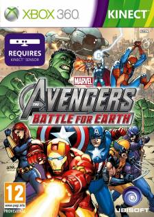 Jaquette cover Marvel Avengers Battle for Earth Xbox 360