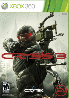 Jaquette Crysis 3 NSTC cover