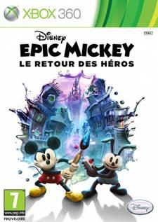 jaquette epic mickey 2 le retour des héros xbox 360