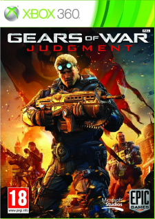 Jaquette Gears of War 3 judgement
