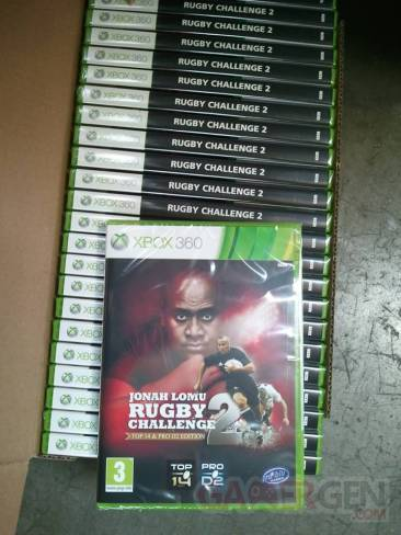 JONAH LOMU RUGBY Challenge 2  stock xbox 360 (1)
