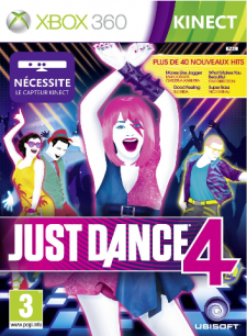 just dance 4 jaquette kinect