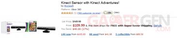 kinect baisse prix Amazon USA