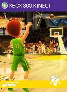 Kinect sports Gems 3 Point Contest