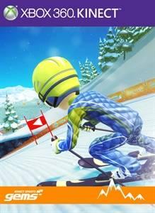 Kinect sports Gems course de ski