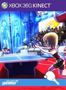 kinect sports gems ping pong