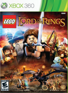 lego lord of the rings cover
