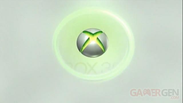 Logo Xbox démarrage screenshot