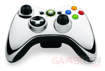 manette chrome serie
