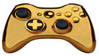 manette xbox gold or vignette