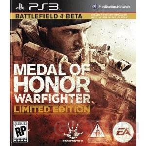 Medal of Honor warfighther limited edition jaquette ps3