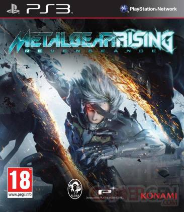 metal gear rising revengeance jaquette PS3