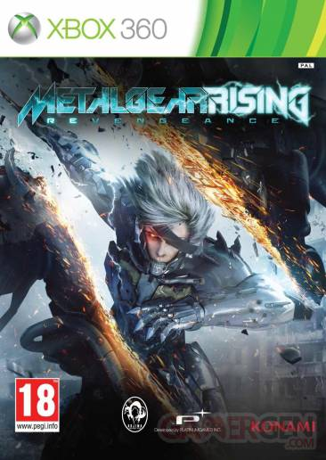 metal gear rising revengeance jaquette xbox 360