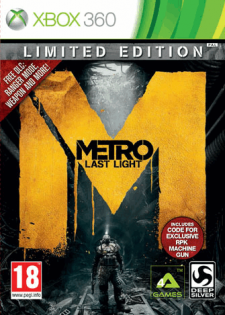 metro last light limited edition jaquette