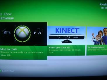 Mise à jour Kinect 12416-121
