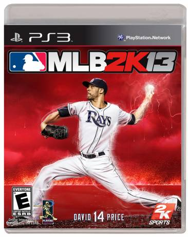 MLB 2K13 ps3 jaquette
