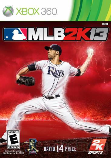 MLB 2K13 xbox 360 jaquette