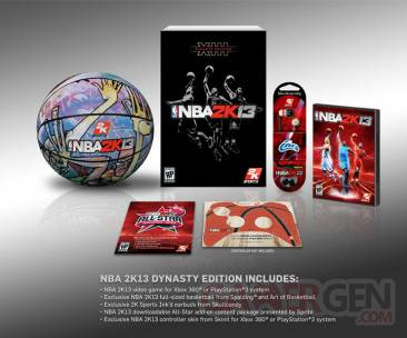NBA 2k13 dysnatsy edition