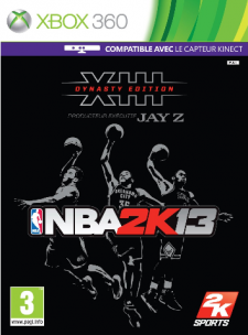 NBA 2k13 jaquette dynasty collector