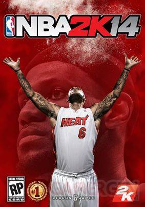nba 2k14 jaquette lebron James
