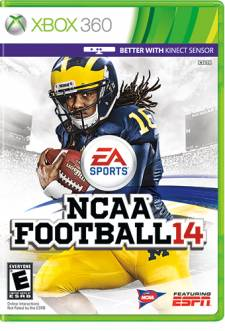 ncaa football 14 jaquette