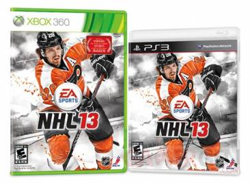 nhl 13 cover jaquette xbox ps3 claude giroux