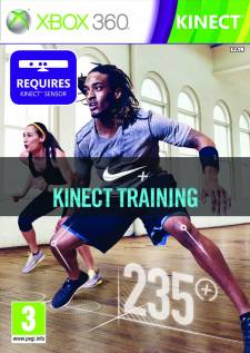 nike + kinect training jaquette xbox 360
