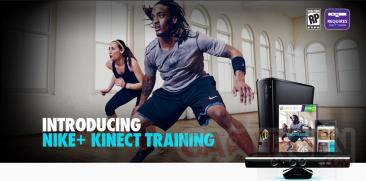nike+ training kinect xbox 360