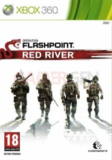 Operation Flashpoint Red River xbox 360 jaquette