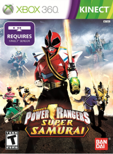 Power Rangers Samurai Xbox 360 cover