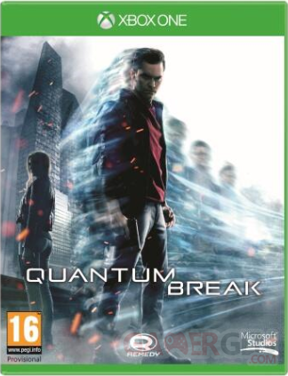 quantum break xbox one jaquette
