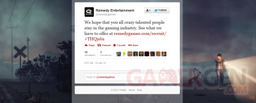 remedy offre emploi thq