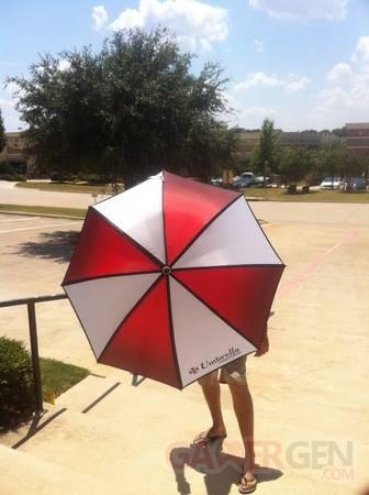 Resident Evil 6 bonus précommande parapluie