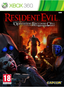 resident evil raccoon city jaquette