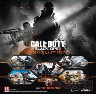 revolution call of duty black ops II dlc