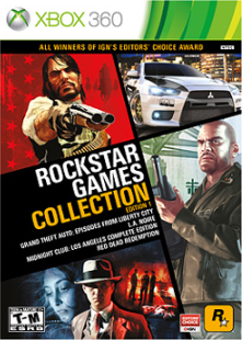 rockstar games collection jaquette