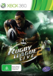 rugby league live 2 jaquette