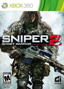 Sniper 2 Ghost Warrior jaquette