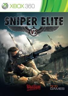 Sniper Elite V2 Jaquette cover xbox