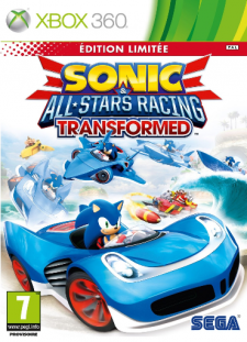 sonic all star racing transformed edition limitée