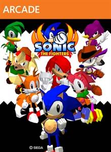 sonic the fighters xbox live jaquette