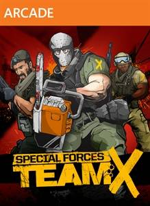 Special Forces Team X jaquette