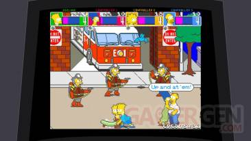 the simpson arcade game