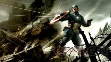 Theme 24 Captain America - menu Jeu