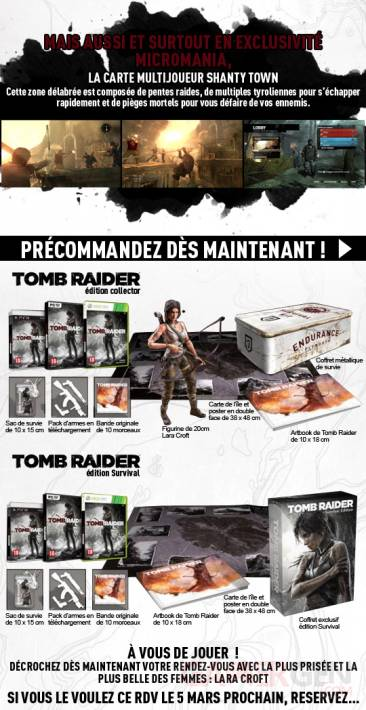tomb raider dlc exclusift shanty town